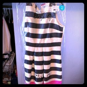 Adorable striped business dress